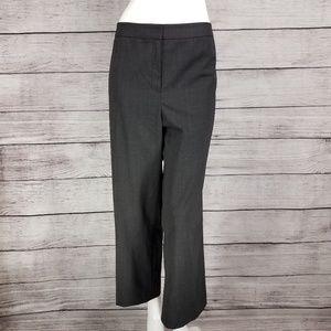 Lafayette 148 Menswear Virgin Wool Crop Dress Pant